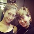 山田優と母親のツーショット。 (画像はinstagram.com/yu_yamadaより)