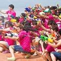 日本最大の水掛けフェスがシーパラで開催