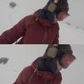 長野でスノーボードを楽しんでいた女性が撮影した怖すぎる映像に反響