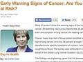 がん疾患を疑うべき10の兆候