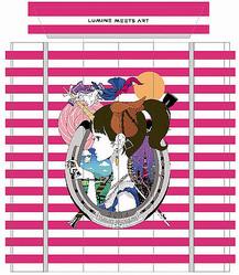 ルミネ新宿エレベーターでアート展 アジカンのCDジャケットを手がける中村佑介の作品展示