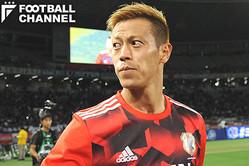 日本代表の本田圭佑【写真:Getty Images】