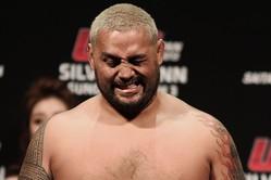 UFC戦績4勝1敗、この一戦に勝てば王座挑戦も見えてくるマーク・ハントだ (C)MMAPLANET
