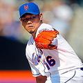 シーズン当初は中継ぎで安定感抜群の投球を見せた松坂大輔投手 [Getty Images]