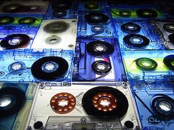 家電蒐集家によるカセットテープのエキシビジョン 表参道で開催