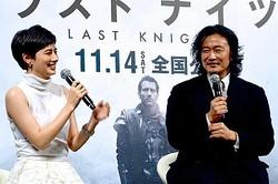 ホラン千秋と紀里谷和明監督