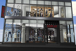 伊デニムブランド「リプレイ」原宿明治通りに国内2店舗目の旗艦店