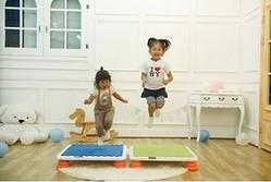 多様な動きを繰り返すことができる「ジャンプ運動」は、成長期の運動能力を高めるのにも役立つ