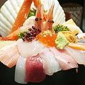 てんこ盛り海鮮丼を食べてみた