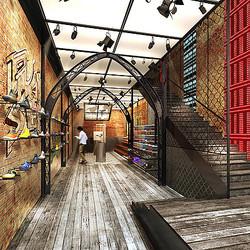 ストリートダンスシューズ「ジェイド」裏原宿に旗艦店 深夜はスタジオに