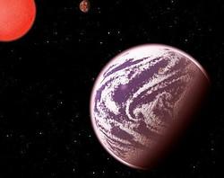 """地球と""""双子""""のような系外惑星を発見。 画像はscience20.comのスクリーンショット"""