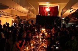 ″最初の晩餐″で開幕 日の出でアートイベント& ダイアンの映画祭