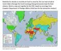 危険な場所が分かる危険世界地図…日本は中韓より危険な国