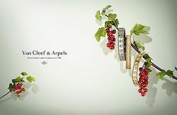 イエローゴールドの新たな輝きヴァン クリーフ&アーペル「ペルレ」から新作発売