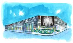 大阪に「韓流」テーマパーク型商業施設 マルハンが14年秋開業