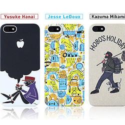 国内外の著名アーティストとコラボしたiPhone 5ケースが登場