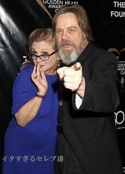 『スター・ウォーズ』シリーズのキャリー・フィッシャーとマーク・ハミル、すっかり変貌