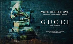 GUCCIと全米レコード芸術科学アカデミーが3年間の独占契約