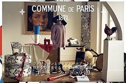 クリエイティブ集団「COMMUNE DE PARIS」のポップアップショップがリステアに