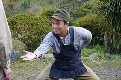 遠州地方の方言で、名もなき便利屋に扮した濱田岳の演技に絶賛の声が/[c]2013「はじまりのみち」製作委員会