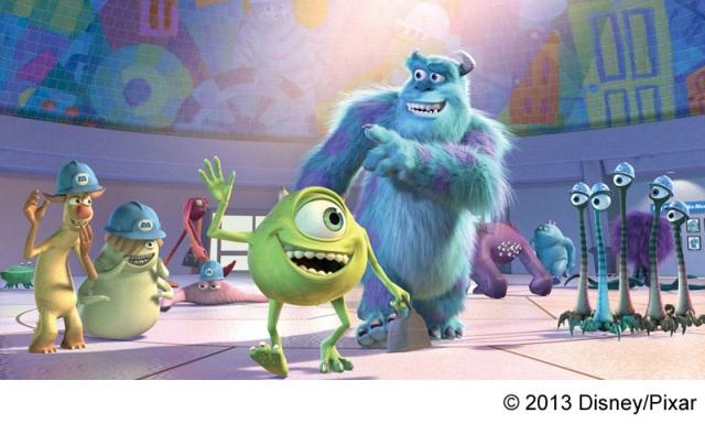 『モンスターズ・インク 3D』 (C) 2013 Disney/Pixar