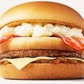 マクドナルドの新商品の名称「北のいいとこ牛っとバーガー」に決定