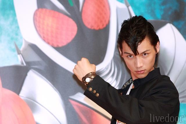 昨年9月に芸能界入り。仮面ライダーフォーゼの主人公に抜擢された新人俳優の福士蒼汰 (撮影:野原誠治)