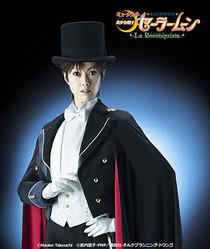 セーラームーンミュージカルのセーラー戦士とタキシード仮面ビジュアル公開