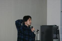 ニコニコ動画RC2説明会で権利問題について語る西村博之氏