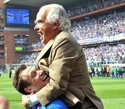 サンプドリアのガッローネ会長が逝去…2002年に同クラブを買収