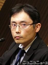 「共喰い」で芥川賞を受賞した田中慎弥さん