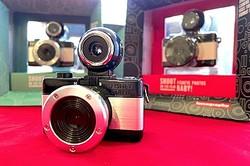 ロモグラフィー史上最小のカメラ 魚眼レンズ搭載で世界同時発売