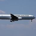 多数の乗客が「置き去り」になっていた(写真はホーチミン線に就航しているボーイング767型機)