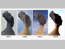 奇景で有名な観光地の「女王の頭」、5〜10年後に崩壊か=研究予測/台湾
