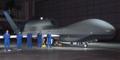 無人偵察機グローバルホーク(米空軍提供)
