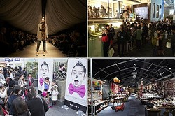 「10月は東京へ」ファッション・アートイベント同時期開催