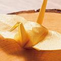 世界一の厨房で橋本宏一シェフが作るセロリの折り鶴に好評価