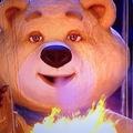 ソチ五輪のマスコット「ホッキョクグマ」(画像は『Sochi 2014 Instagram』より)