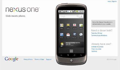 「Nexus One」