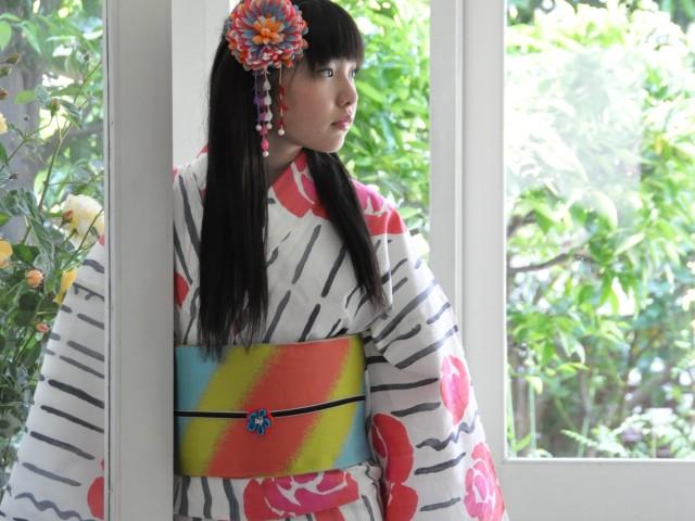 2012年・夏の浴衣スタイルのカギは帯!