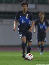 U-20日本代表MF高木彰人(G大阪)