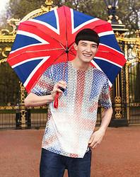 トップマン×新進気鋭デザイナーのTシャツ ロンドン初のメンズコレクション開催記念