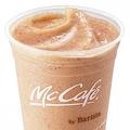 """""""McCafe by Barista""""(マックカフェ バイ バリスタ)併設店舗で発売される「フルーツやさいスムージー」(Mサイズ390円、Lサイズ430円)は7月13日(水)から9月上旬までの期間限定メニュー!"""