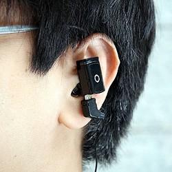 わずか8g! イヤホン一体型MP3プレーヤー『マイクロスポーツMP3プレーヤー』