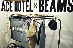 ビームスとACE HOTELがコラボ発表 NYと日本で限定販売