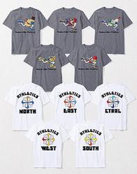 走る芋・鰻・明太子... NIKEからユニークなご当地Tシャツ発売