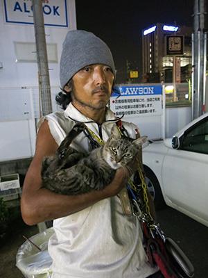 """[画像] 寝屋川事件で思わぬ注目の""""ネコじい""""。周囲は変人扱い、市役所も大迷惑!だが…"""