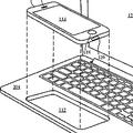 iPhoneやiPadをノートPCにするアクセサリーの特許 Appleが申請中