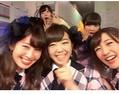 AKB48現役1期生、小嶋陽菜、峯岸みなみ、高橋みなみ。(画像は『instagram.com/nyanchan22』より)