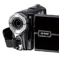 乾電池で撮影できる 軽量で小型のビデオカメラ「VS-FUN III」